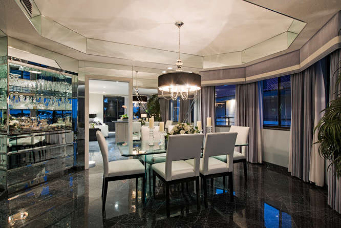 Rarely Available Pent House-small-005-Dining Room-666x445-72dpi